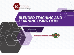 Blended Teaching and Learning Using OERs (16 Jan-13 Feb 2019)